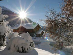 antagnod con la neve